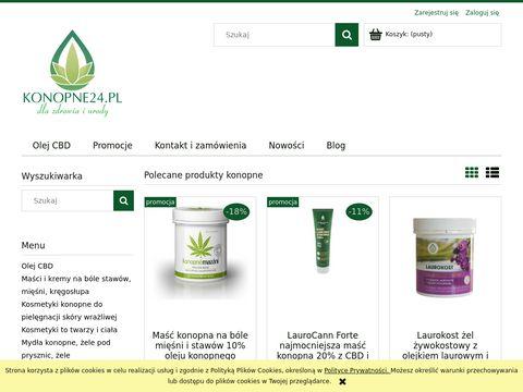 Konopne24.pl produkty i kosmetyki