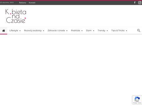 Kobietanaczasie.pl portal dla kobiet