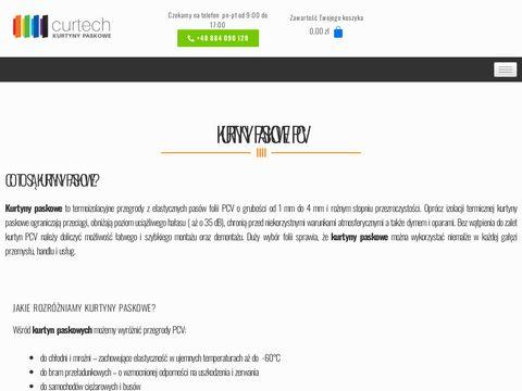 Kurtynypaskowe.com.pl przemysłowe