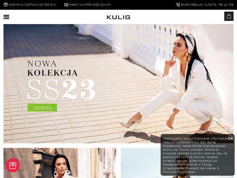 Kulig.pl ciepłe buty damskie na zimę