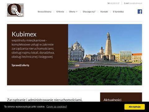 Kubimex.pl zarządca wspólnot mieszkaniowych
