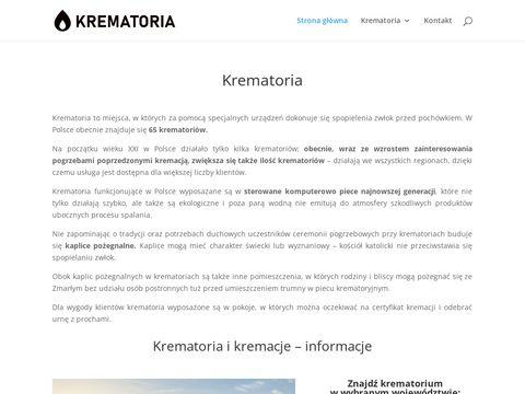 Krematoria.com.pl strona o kremacjach