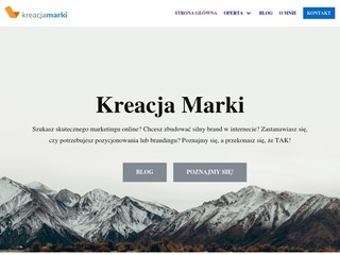 Kreacjamarki.pl - copywriting SEO marketing online