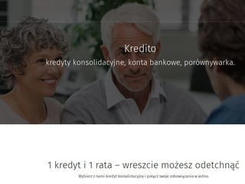 Kredito.com.pl konsolidacja chwilówek