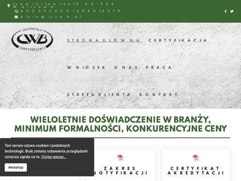 Jccwb.pl certyfikaty wyrobów budowlanych