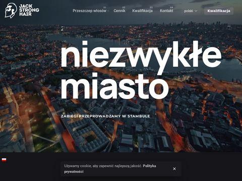 Jackstronghair.com przeszczep włosów