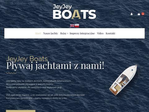 Jjboats.pl imprezy integracyjne