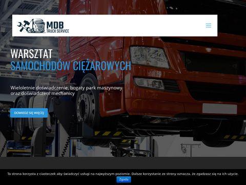 Mdbtruck.pl serwis samochodów ciężarowych