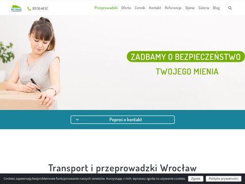 Metrans-wro.pl przeprowadzki Wrocław