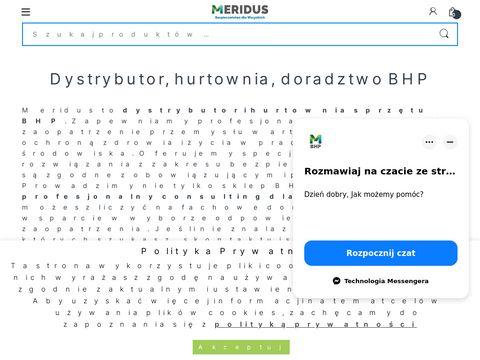 Meridus.pl hurtownia BHP odzież robocza