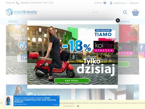 Meditrendy.pl odzież medyczna