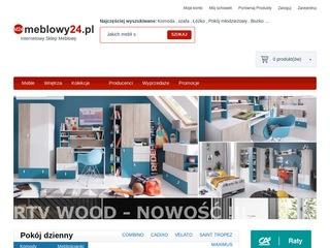 Meblowy24.pl kolekcje do salonu