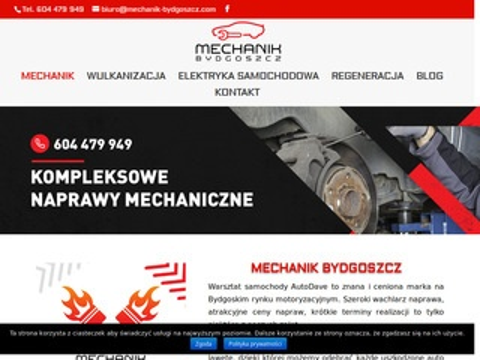 Mechanik-bydgoszcz.com warsztat samochodowy