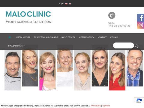 Maloclinics.pl gabinet stomatologiczny Warszawa