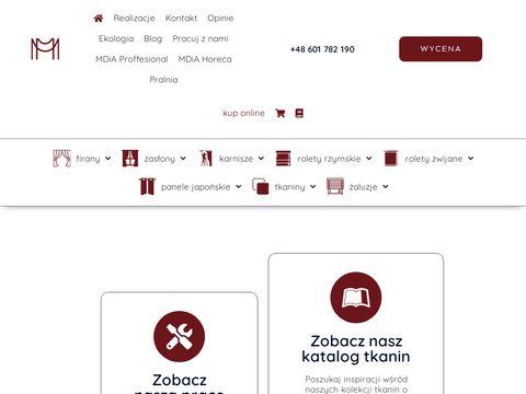 Malgorzata.poznan.pl karnisze elektryczne
