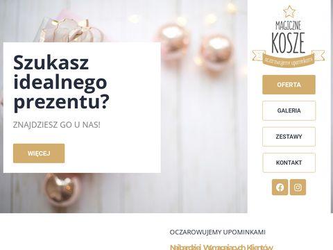 Paczki świąteczne - magiczne-kosze.pl