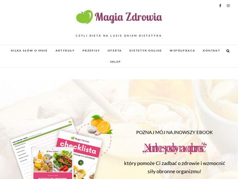 Magiazdrowia.com.pl dietetyk