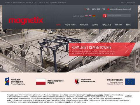Przemysłowe detektory metali - magnetix.com.pl