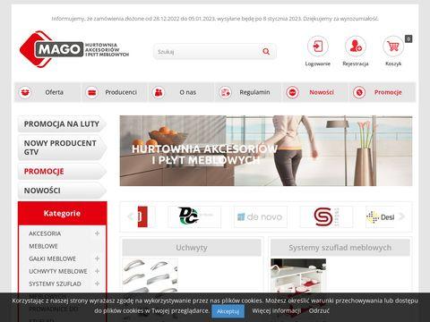 Magolodz.pl hurtownia akcesoriów meblowych