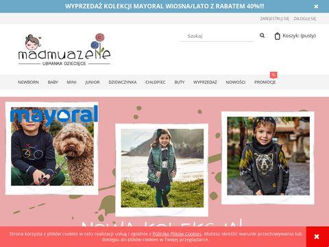 Madmuazelle.pl odzież dziecięca Mayoral sklep