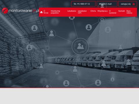 Monitorowanie24.pl pojazdów GPS