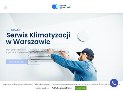 Montazklimatyzacji.waw.pl serwis Warszawa