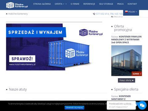 Mobilnekontenery.pl sprzedaż wynajem
