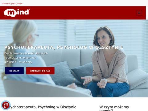 Mind.olsztyn.pl gabinet psychoterapii