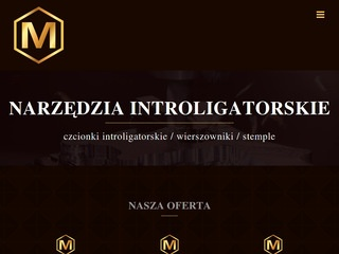 Micks.pl produkcja narzędzi introligatorskich