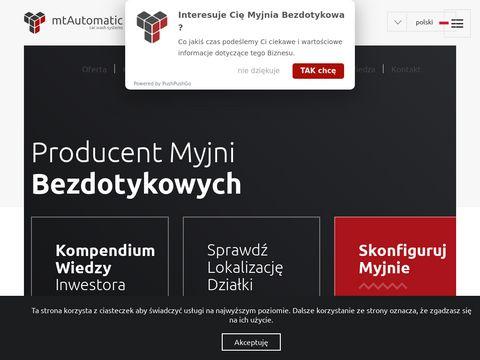 Mtautomatic.pl producent myjni bezdotykowych