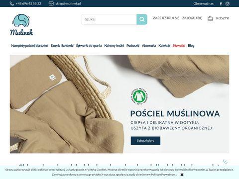 Mulinek.pl sklep z kołderkami dla dzieci i mamy