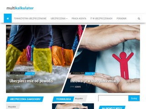 Multikalkulator.pl ubezpieczenia komunikacyjne OC