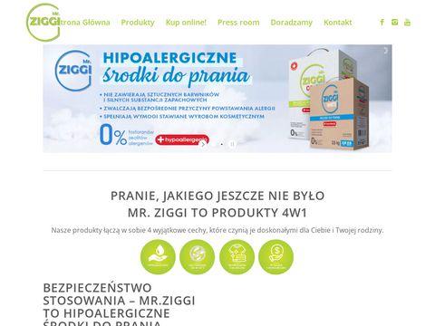 Mr-ziggi.pl hipoalergiczne środki do prania