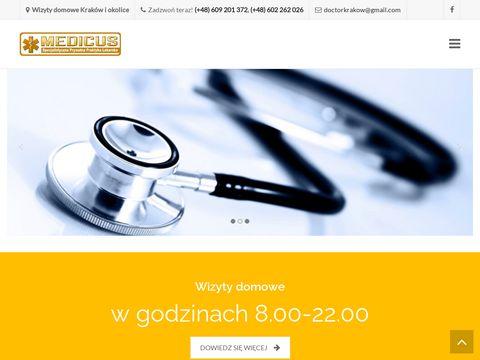 Lekarze-krakow.com.pl Medicus wizyty domowe