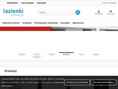 Lazienkionline.pl wyposażenie łazienki i toalety