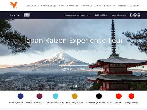 Langas.pl szkolenia Warszawa