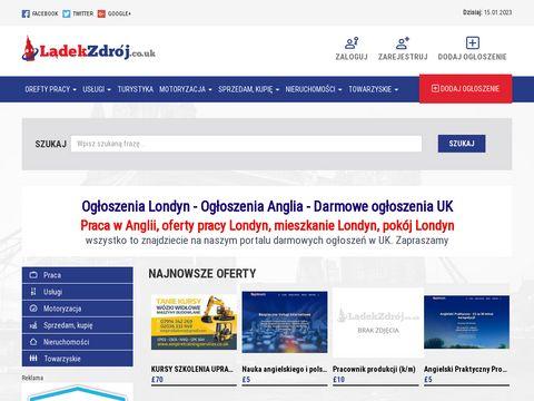Ladekzdroj.co.uk - darmowe ogłoszenia