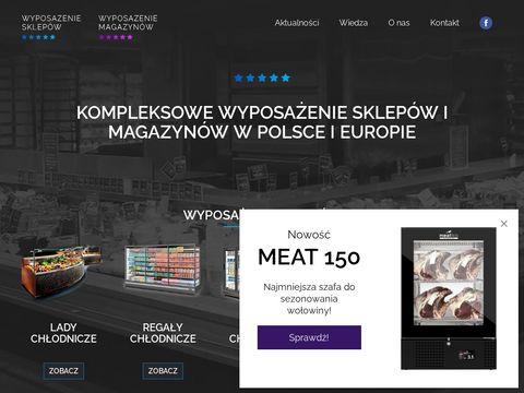 Italfrost profesjonalne witryny chłodnicze