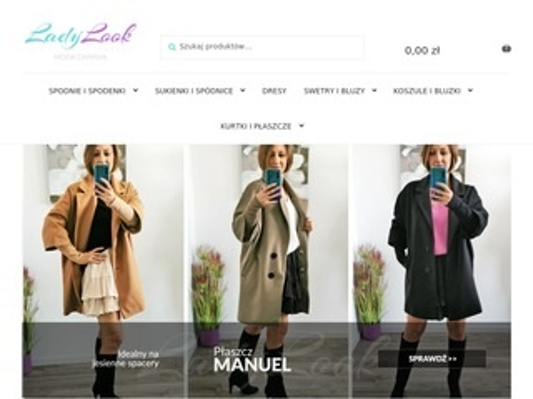 LadyLook.pl internetowy sklep odzieżowy