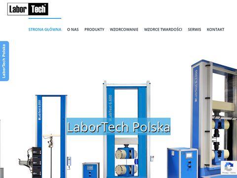 Labortech.pl maszyna wytrzymałościowa