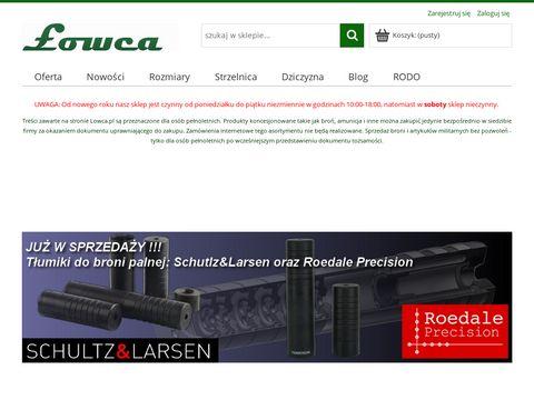 Lowca.pl broń krótka