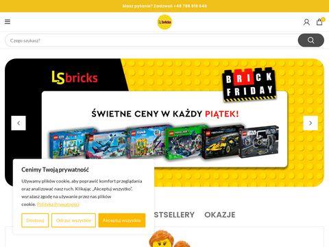 Elementy klocków lego na sztuki - lsbricks.pl