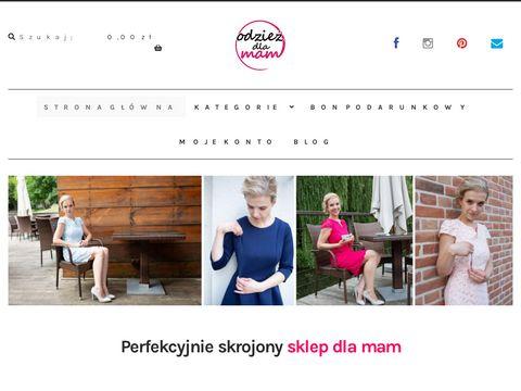 Odziezdlamam.pl ubrania dla mam