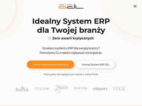 Odl.com.pl system ERP