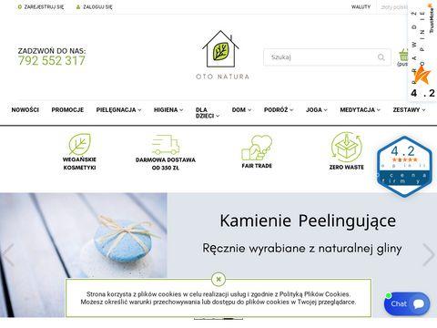 Otonatura.com.pl kosmetyki zero waste