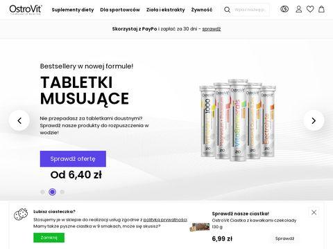 Ostrovit.com odżywki białkowe