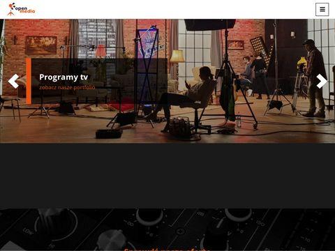 Openmedia.com.pl wypożyczalnia sprzętu filmowego