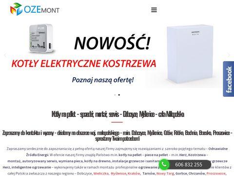 Ozemont.pl odnawialne źródła energii