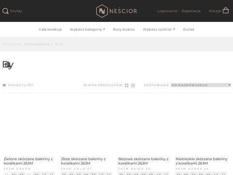 Nescior.com modne buty damskie Częstochowa
