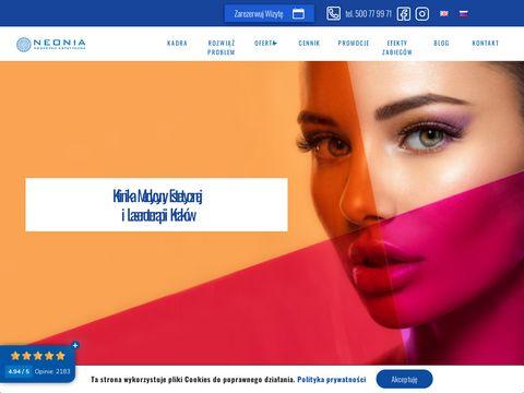 Neonia.com.pl klinika dermatologii estetycznej